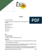 Protokoll 12.06.2013