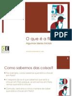 o que é a filosofia, algumas ideias iniciais 2013.pdf