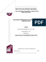 Secciones Compuestas de Acero-concreto (Metodo Lrfd)