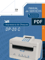 Manual de Servico Da Impressora de Cheque DP-20 C