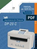 Manual de Servico Da Impressora de Cheque DP-20 C