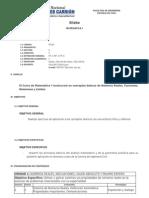05101 - Matematica I