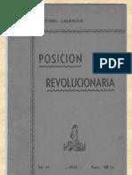 Antonio Casanova - Posicion Revolucionaria.pdf