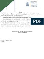 OMECTS nr. 5547 din 06.10.2011 privind aprobarea Regulamentului de inspec+¢ie a unit-â+¢ilor de +«nv-â+¢-âm+ónt preuniversitar