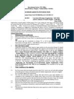 ECR Group D Vacancies - Recruitment Against Ex-Servicemen Quota