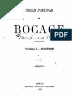 Obras poéticas de Bocage, Sonetos