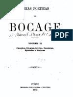 Obras poéticas de Bocage