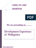 Economic Experience of Philippines (Sec B) FINAL