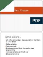 06-07 - Java Classes, Methods