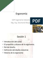 Ergonomía Sesion 1