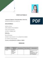 Formulario de Oferta de Trabajo CNT EP - Para Combinar