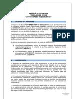 Bases de Postulación Universidades de Excelencia reformas hasta 11 de julio de 2012