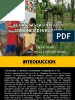 Agua y Saneamiento en Comunidades Rurales