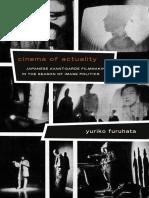 Cinema of Actuality by Yuriko Furuhata