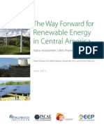The Way Forward for Renewable Energy in Central America