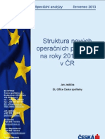 Strukturální fondy EU - Operační programy 2014 - 2020