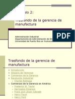 CAP 2 Trasfondo de La Gerencia de Manufactura