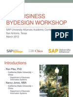 Business ByDesign San Antonio 2012
