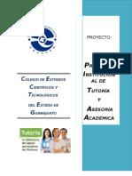 Trabajo Final Proyecto de Tutorias 2013