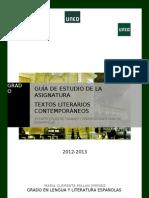 Guia Textos Contemporaneos 2012 2013