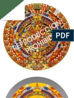 Calendario Azteca Vector 090330