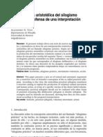Vigo, Alejandro, La concepción aristotélica del silogismo práctico. En defensa de una interpretación restrictiva (2010)
