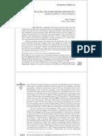 Auto-predicação, não-identidade, separação Platão, Aristóteles e o Terceiro Homem
