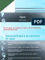 Agua y energía