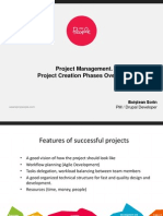 Project Creation Phases Overview