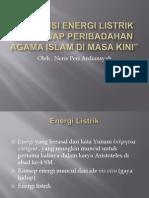 Urgensi Energi Listrik Terhadap Peribadahan Agama Islam