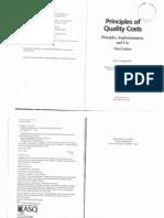 Principles of Quality Costsqqqqqqqqqqqqqqqq