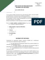 Distribucion Binomial