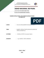 ANALISIS ESTRUCTURAL DE MONTACARGA DE UÑAS AUTOMÀTICO