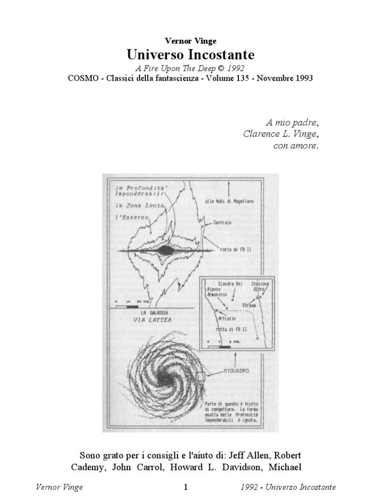 Vinge Vernor - Universo Incostante (Ita Libro) ae23d91144a8