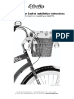 Natural Wicker Basket Install