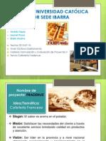 Cafeteria Exposicion Estudio de Mercado