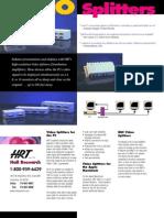 200-400-800 Brochure(4 Port VGA Video Splitter)