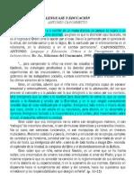 A Caponnetto - Lenguaje y educación