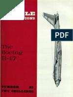 Aircraft Profile 083 - Boeing B-47 Stratojet