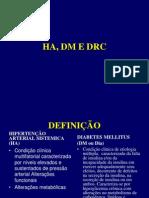 APRESENTAÇÃO REDE HA, DM E IRC