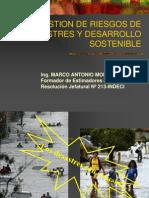 Gestion de Riesgos de Desastres y Desarrollo Sostenible