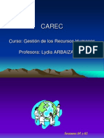 CAREC 01 y 02 Factor Humano