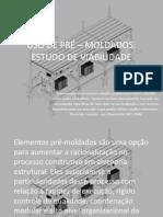 USO DE PRÉ – MOLDADOS_SUBESTAÇÕES