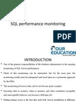 monitoring SQL Server Performance