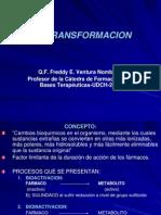 biotransformacion farmacos