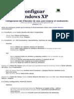 Configuar Windows XP y Vista Rendimiento-tip Info