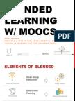 Blended Learning W/ MOOCs