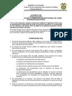 ACUERDO Nº 006 de 2011