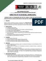 Directiva Dia de Logro 2013