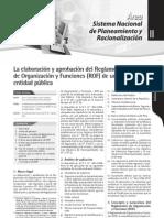 Rof de Entid. Publicas.- Agosto 2011